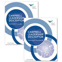 Campbell Leadership Descriptor Facilitator Guide Package (Print Format)