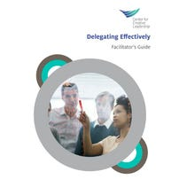 Delegating Effectively Workshop Facilitator Kit