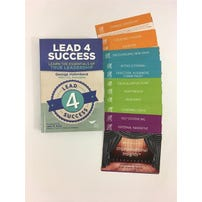 Lead 4 Success (L4S) Book + Improvisational Insights: Leadership Lessons from Improv Theatre Cards