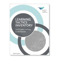 Learning Tactics Inventory Participant Workbook and Survey