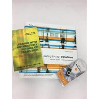 Leading Through Transitions: Facilitator Guide and Leading With Authenticity in Times of Transition Book Kit
