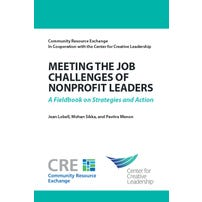 Meeting the Job Challenges of Nonprofit Leaders: A Fieldbook on Strategies and Action