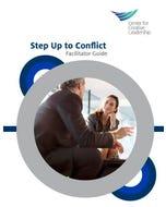 Step Up To Conflict Workshop Facilitator Kit