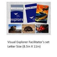 Visual Explorer Facilitator Set: Letter Size (8.5in x 11in)